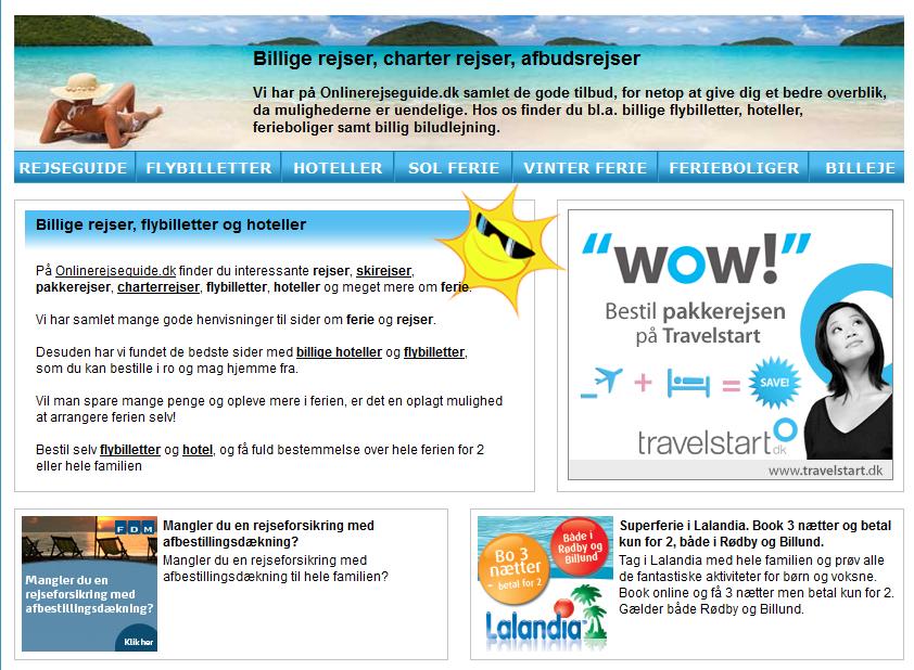 Onlinerejseguide.dk