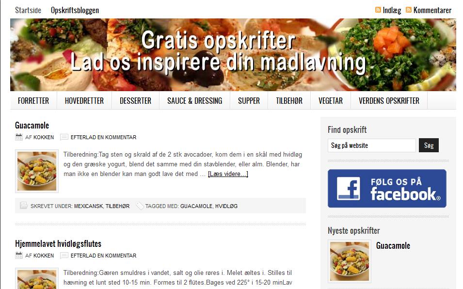 Gratis-opskrifter.dk