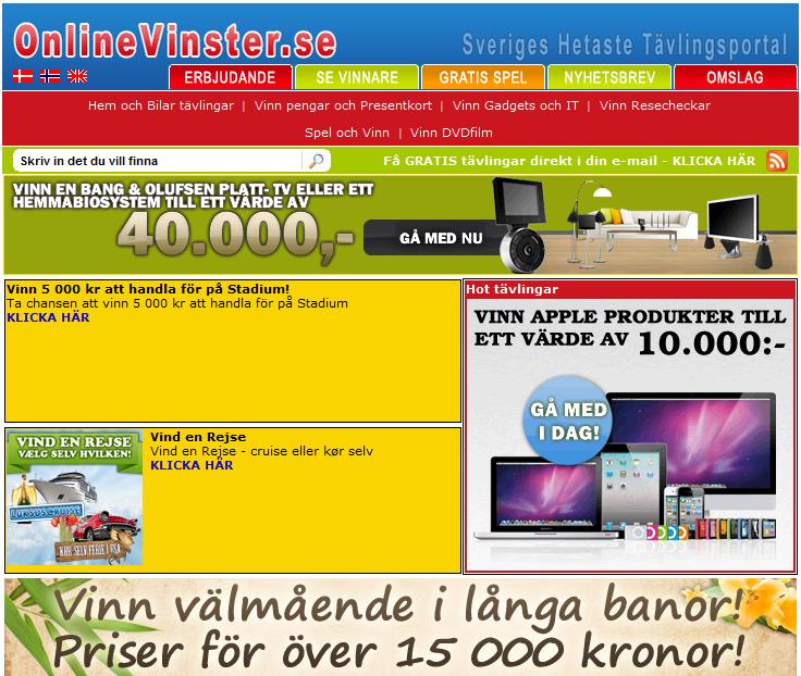 Onlinevinster.se