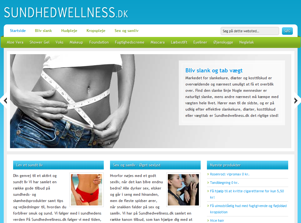 Sundhedwellness.dk